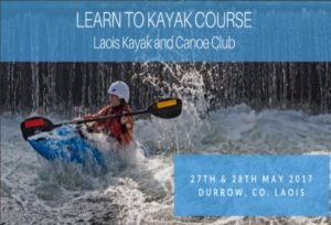 Learn to Kayak Course - Laois Kayak and Canoe Club.