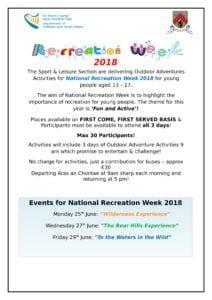 Recreation Week