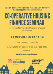 Co-Operative Housing Finance Seminar @ The Carmelite Centre, 56 Aungier Street, Dublin 2. D02 R598 | Dublin | County Dublin | Ireland