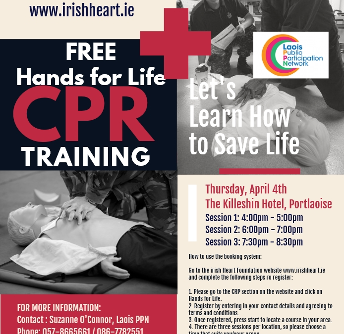 """""""Hands for Life"""" CPR"""