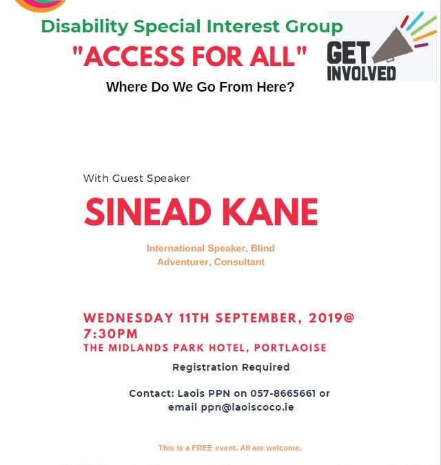 Disability SIG – Where do we go from here?
