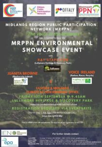 Midlands Region Public Participation (MRPPN) - Environmental Showcase Event @ Lullymore | Lullymore | County Kildare | Ireland