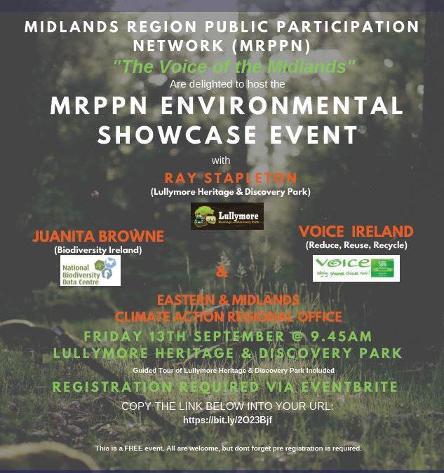 Midlands Region Public Participation (MRPPN) – Environmental Showcase Event
